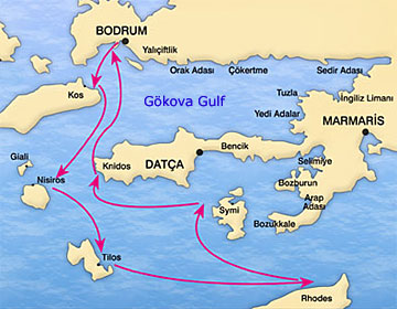 South dodecanese blue cruises from bodrum to the greek islands blue cruise gumiabroncs Choice Image