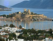 The landmark of Bodrum - St. Peter                                 castle
