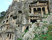 Rocktombs in Fethiye