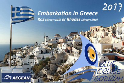 This year we offer Embarkation and Disembarkation on our Gulet Yachts in Greece - Kos and Rhodes