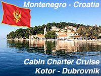 Montenegro Cabin Charter Blue Cruise