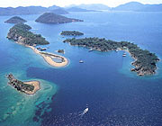 12 islands in the Gocek bay