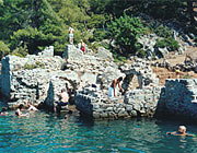 Gocek Hamam - or was it the Cleopatra bath?