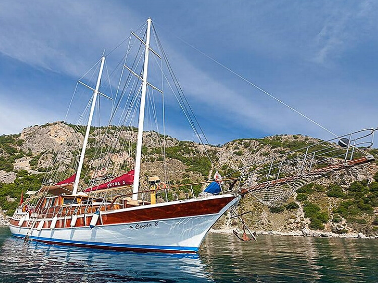 Gulet CEYDA 2 - Gulet holiday - Blue Cruise