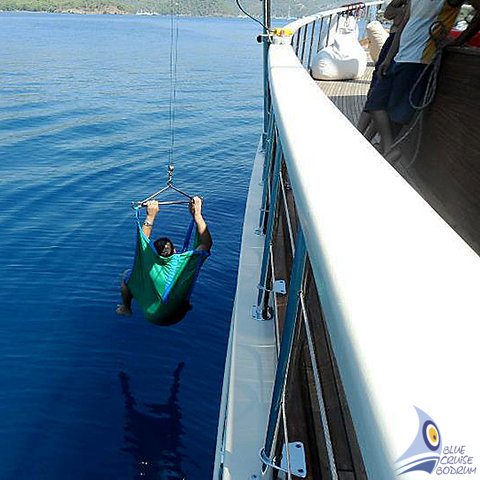 Gulet SETTE CIELI - Accessible Gulet holiday - Blue Cruise for handicaped
