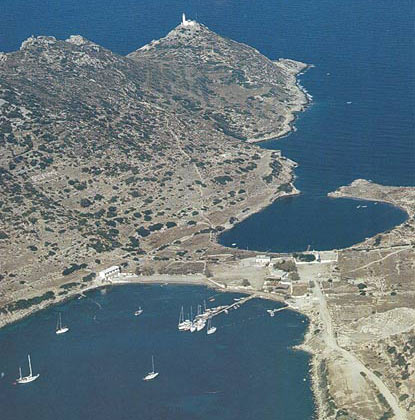Knidos-Cnidus, the two harbours, Cnidos, accessible best ...